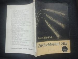 náhled knihy - Zušlechťování žita