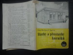 náhled knihy - Stavby a přestavby kurníků