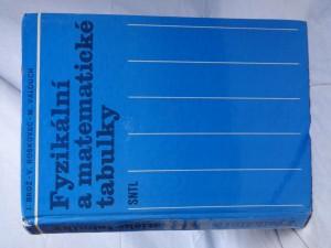 náhled knihy - Fyzikální a matematické tabulky