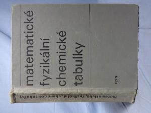 náhled knihy - Matematické, fyzikální, chemické tabulky pro střední školy