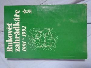 náhled knihy - Rukověť zahrádkáře 1991*1992