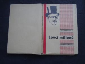 náhled knihy - lovci milionů