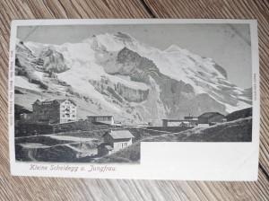 náhled knihy - Kleine Scheidegg u. Jungfrau