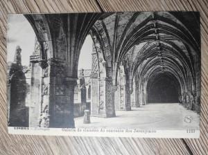 náhled knihy - Lisboa - (Portugal) Galeria do claustro do convento dos Jeronymos 1153
