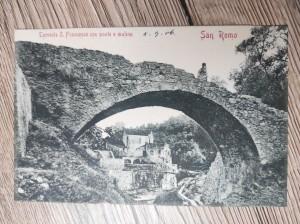 náhled knihy - San Remo. Torrente S. Francesco con ponte e mulino