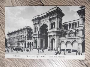 náhled knihy - Milano Arco della Galleria No. 10