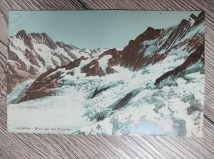 náhled knihy - Jungfrau - Blick auf das Eismeer
