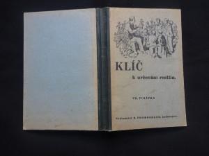 náhled knihy - Klíč k určování rostlin