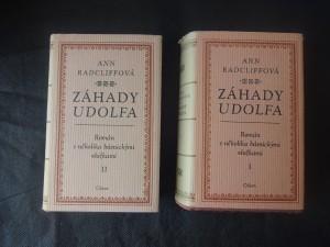 náhled knihy - Záhady Udolfa I,II: román s několika básnickými vložkami