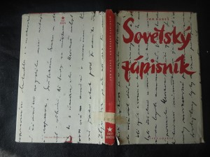 náhled knihy - Sovětský zápisník