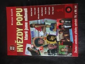 náhled knihy - Hvězdy popu, které jsme milovali : [životní i umělecké příběhy zpěváků 70. a 80. let]