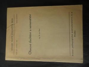 náhled knihy - Obecné šlechtění a semenářství