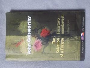 náhled knihy - Salvation of a Forsyte = Forsytovo nanebevzetí