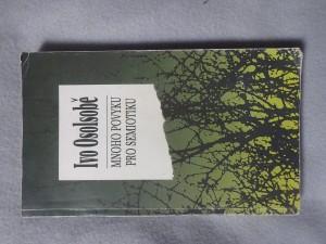 náhled knihy - Mnoho povyku pro semiotiku