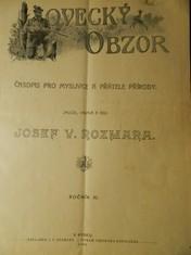 náhled knihy - Lovecký obzor : illustrovaný zábavně-poučný časopis pro myslivce, střelce, kynology, rybáře a přátele přírody z Čech, Moravy a Slezska