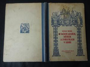 náhled knihy - O našich legiích, dětech a zvířátkách v Sibiři