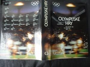 náhled knihy - Olympijské hry : od Athén 1896 po Moskvu 1980
