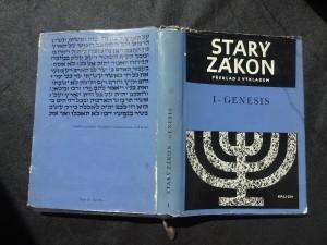 náhled knihy - Starý zákon : překlad s výkladem. 1, První kniha Mojžíšova - Genesis