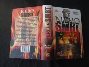 náhled knihy - Nero a smrt : Řím v krvi a plamenech