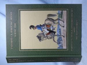 náhled knihy - Uniformy c.k. rakouské armády k roku 1822 = Darstellung der k.k. oesterreichischen Armee mit allen Chargen