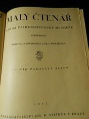 náhled knihy - Malý čtenář. Kniha československé mládeže, roč. 56