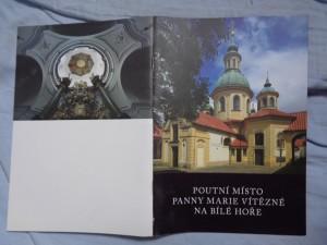 náhled knihy - Poutní místo Panny Marie Vítězné na Bílé hoře