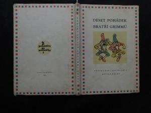 náhled knihy - Deset pohádek bratří Grimmů