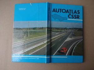 náhled knihy - Auto-atlas ČSSR. 1:400 000