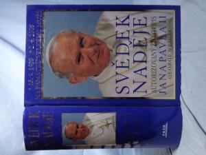 náhled knihy - Svědek naděje : životopis papeže Jana Pavla II