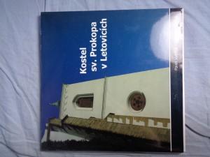 náhled knihy - Kostel sv. Prokopa v Letovicích
