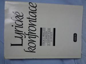 náhled knihy - Lyrické konfrontace