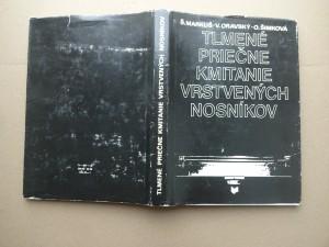 náhled knihy - Tlmené priečne kmitanie vrstvených nosníkov