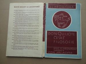náhled knihy - Don Quijote české filosofie Emanuel Rádl 1873-1942
