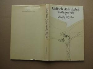 náhled knihy - Veliké černé ryby a dlouhý bílý chrt : (verše 1971-1975)