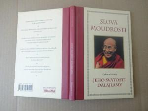 náhled knihy - Slova moudrosti : vybrané citáty Jeho Svatosti dalajlamy