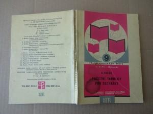 náhled knihy - Početní tabulky pro techniky : Určeno stř. i odb. školám i technikům v praxi jako polytechnická příručka