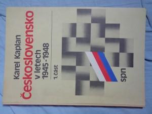 náhled knihy - Československo v letech 1945-1948 + 1948-1953 1. a 2. část