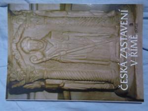 náhled knihy - Česká zastavení v Římě
