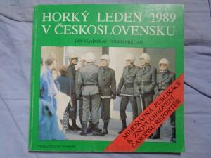 náhled knihy - Horký leden 1989 v Československu: mimořádná publikace k znovuobnovení časopisu Reportér