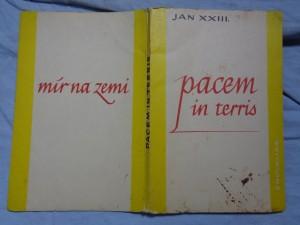 náhled knihy - Pacem in terris = Mír na zemi: okružní list svatého Otce Jana XXIII. o míru mezi národy a o tom, jak ho nastolit v pravdě, spravedlnosti, lásce a svobodě, Řím, 11. dubna 1963 Mír na zem