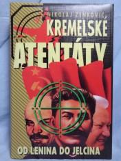 náhled knihy - Kremelské Atentáty