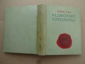 náhled knihy - Klukovské vzpomínky