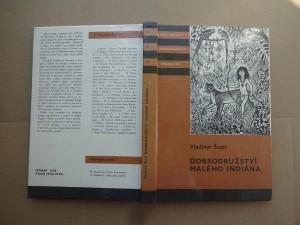 náhled knihy - Dobrodružství malého Indiána