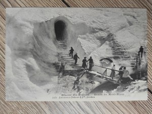 náhled knihy - Glacier des Bossons - Grotte du Mont-Blanc