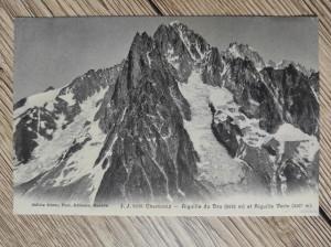 náhled knihy - J. J. 6226 Chamonix - Aiguille du Dru et Aiugille Verte