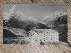 náhled knihy - 44 - L'Hotel Riffelalp et le Cervin-Matterhorn