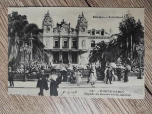 náhled knihy - Collection Artistique 780. - Monte Carlo. Facade du Casino et les Jardins