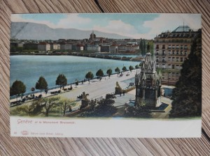 náhled knihy - Geneve et le Monument Brunswick.