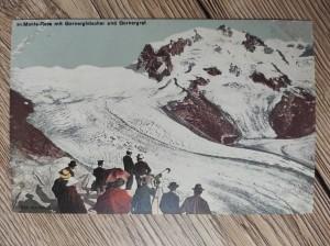 náhled knihy - 80. Monte-Rosa mit Gornergletscher und Gornergrat