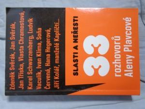 náhled knihy - Slasti a neřesti: 33 rozhovorů Aleny Plavcové